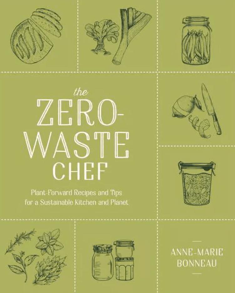 The Zero-Waste Chef book cover